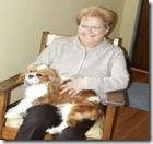 Bailey and Grandma Bev