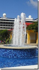 fountain center of Roatan