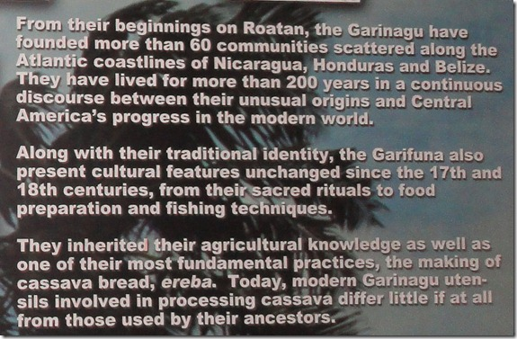 frm the beginning, the Roatan people